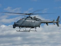 MQ-8C Fire Scout with Leonardo radar
