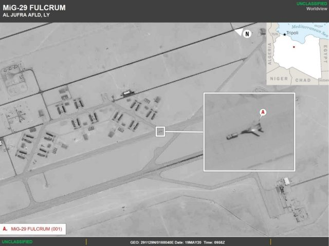 Russian MIG-29 Fulcrum in Libya