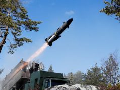 RBS-15 long-range fire-and-forget surface-to-surface and air-to-surface, anti-ship missile