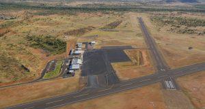 Cloncurry Aerodrome UAV flight test range