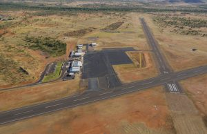 Cloncurry Aerodrome UAV flight test range