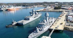 HMAS Anzac and HMAS Arunta