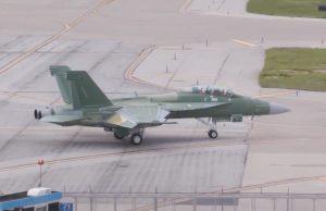 Unpainted Block III Super Hornet