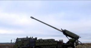 Danish Army Caesar 8x8 Nexter