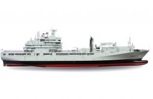 Royal Canadian Navy Joint Support Ship design