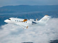 Bombardier Challenger 650 aircraft