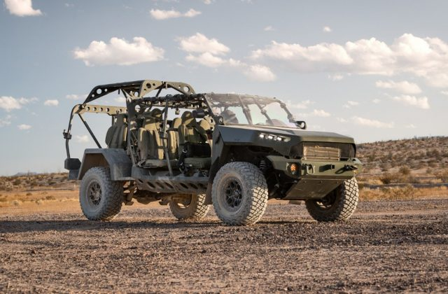 US Army infantry squad vehicle