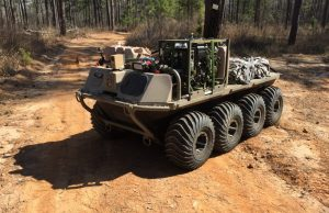 MUTT unmanned ground vehicle