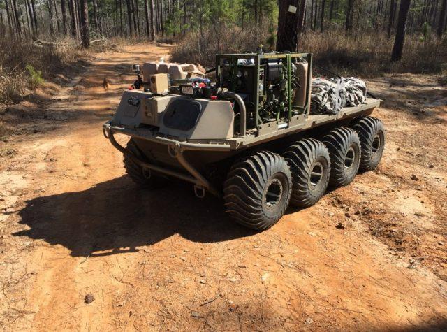 MUTT unmanned ground vehicle