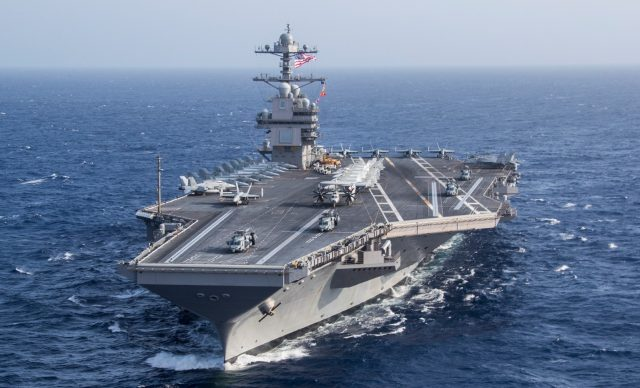 New Us Navy Carrier Ford Completes Largest Aircraft Embark