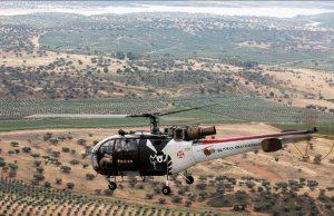 Alouette III helicopter