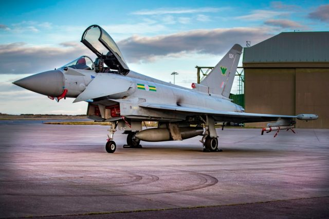 IX(B) Squadron Typhoon FGR4