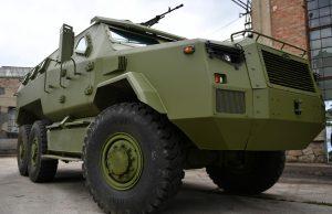 M-20 6x6 MRAP vehicle