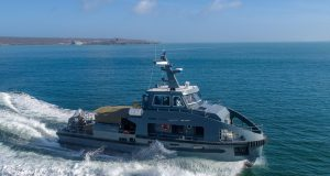 South African special forces workboat Inkanyamba