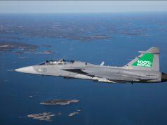 Biofuel Gripen fighter jet