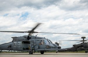 HH-60W Jolly Green II with Apache