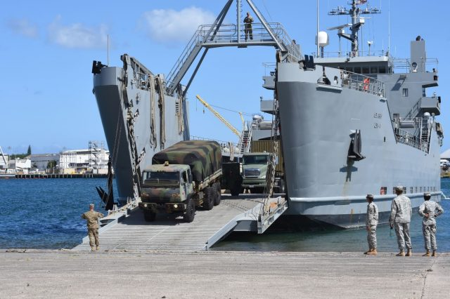 US Army vessel