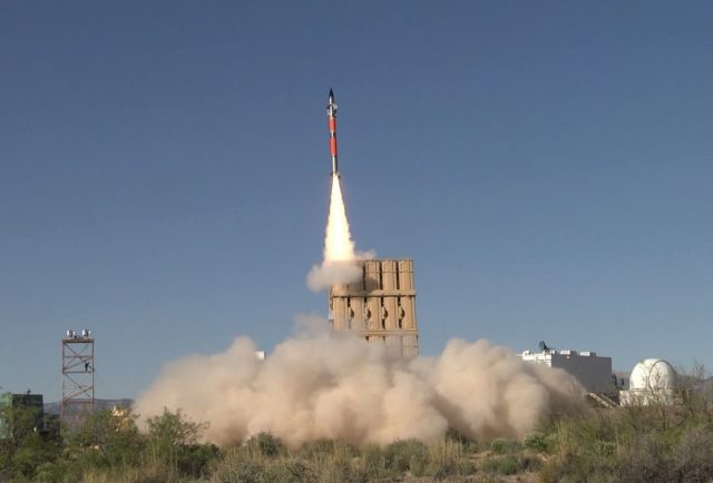 Iron Dome air defense system