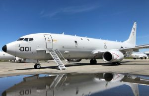 P-8A at Naval Air Station Whidbey Island
