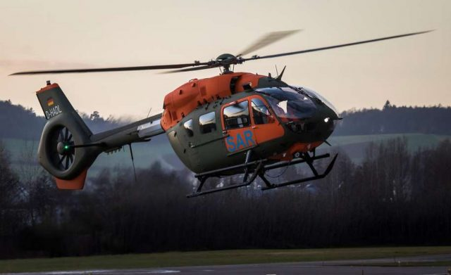 German H145 SAR helicopter