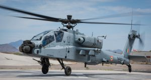 Indian Air Force Apache helicopter