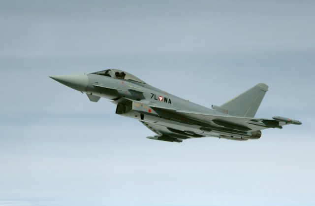Austrian Air Force Eurofighter
