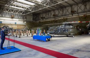 Italian Army AW169 training helicopter