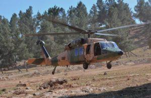 Jordanian UH-60 Black Hawk helicopter exercise Eager Lion