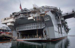 USS Bonhomme Richard after the fire