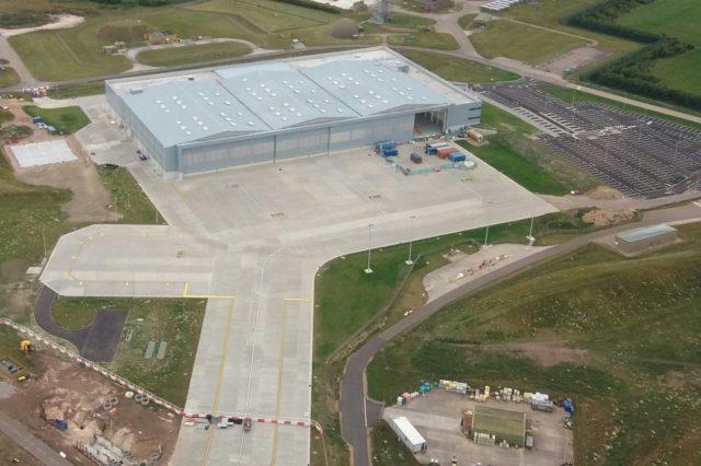 P-8A hangar at RAF Lossiemouth