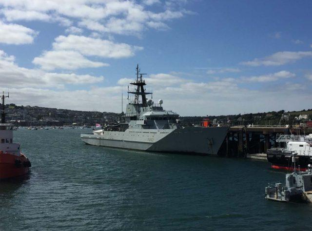 River-class OPV HMS Severn