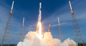 Falcon9 with US Space Force GPS III satellite