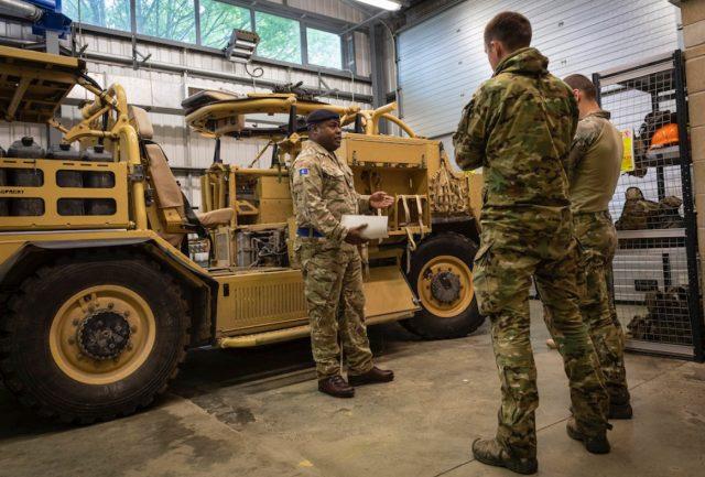 Jackal armored vehicle