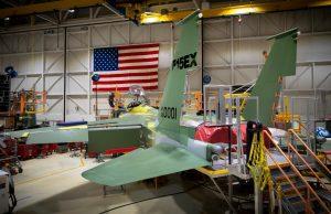 First F-15EX aircraft