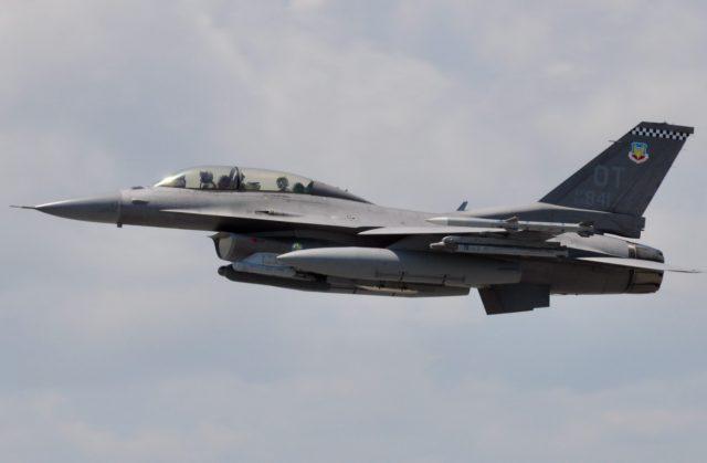 F-16 with Legion pod