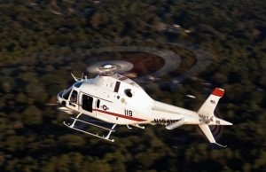 US Navy training helicopter