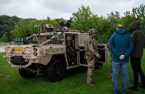 Dutch special forces VECTOR vehicle