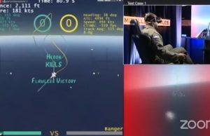 AI vs human pilot dogfight