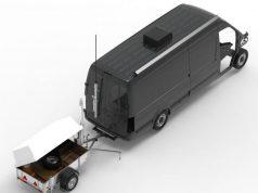 TESLA-M counter-IED vehicle
