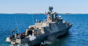 Hamina-class vessel with torpedo capability