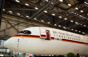 German Air Force A350 VIP transport