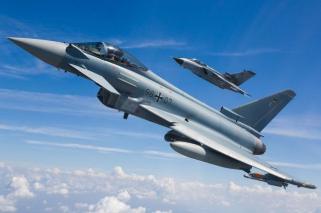 Eurofighter remote carrier