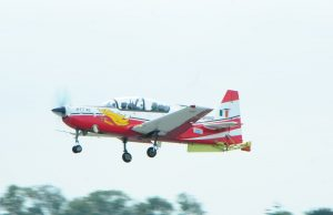 HTT-40 trainer aircraft