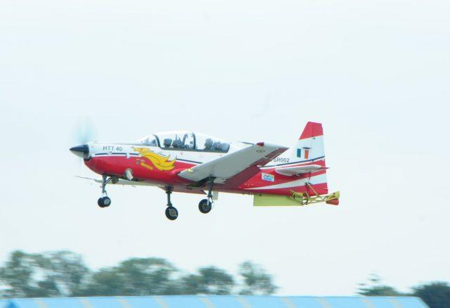 HTT-40 trainer aircraft