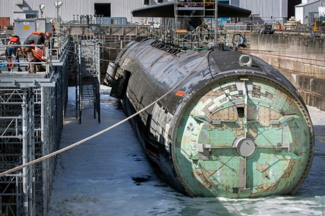 Los Angeles-class submarine Pittsburgh (SSN 720) inactivation