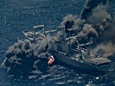 Ex-USS Durham sunk by missiles during RIMPAC 2020