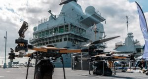 Unmanned systems aboard HMS Prince of Wales