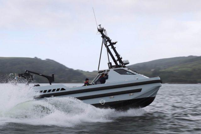 Royal Navy Motor Boat Harrier