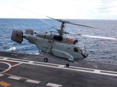 Ka-27 Russian helicopter