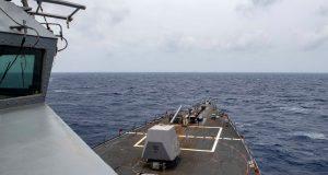 US destroyer freedom of navigation operation